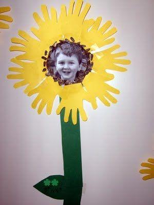 Stand Tall sunflower idea