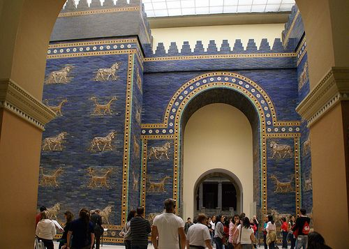 Berlin Pergamonmuseum Ischtar Tor Aus Babylon Ishtar Gate Of Babylon Gate Of Babylon Ancient Babylon Ishtar