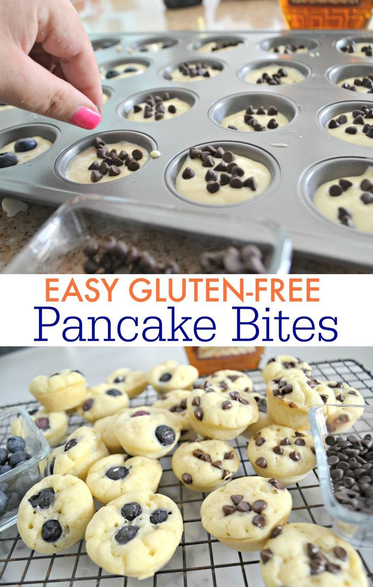 Gluten-Free Pancake Bites (Easy Grab and Go Breakfast Idea) - Hip2Save #glutenfreebreakfasts