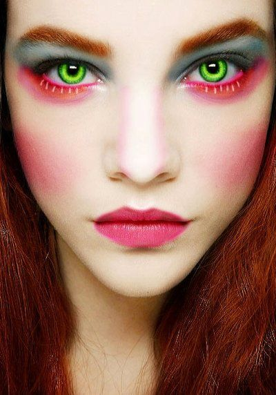 Mad hatter makeup girl version by littleskittles on - Maquillage chapelier fou ...