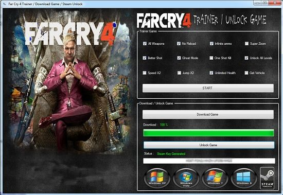 far cry 4 cd key generator no survey