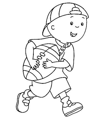 Free Printable Caillou Coloring Pages For Kids In 2020 Cartoon Coloring Pages Bunny Coloring Pages Coloring Pages
