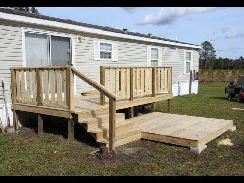 Floating Deck Made Easy Step By Step Instructions For Beginners Plus Stairs Youtube Building A Deck Floating Deck Diy Deck