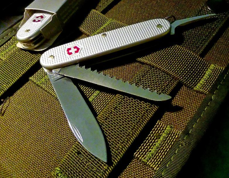 Victorinox Bushcrafter In Alox Knives And Bushcraft