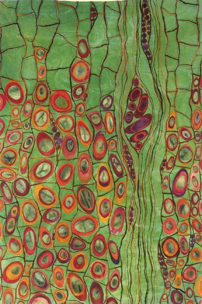 Karen Kamentzky, fiber artist