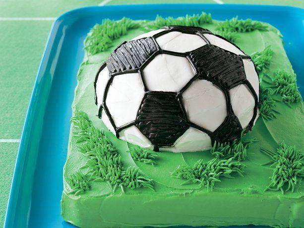 Soccer Ball Cake Recipe Soccer Ball Cake Soccer Cake Soccer Ball