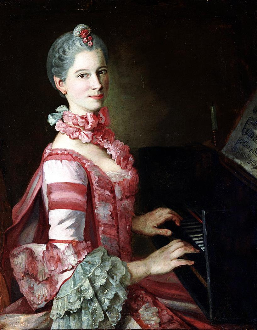 Pietro Antonio Lorenzoni (1721-1782):Portrait of Marianna Martines (1744-1812)…