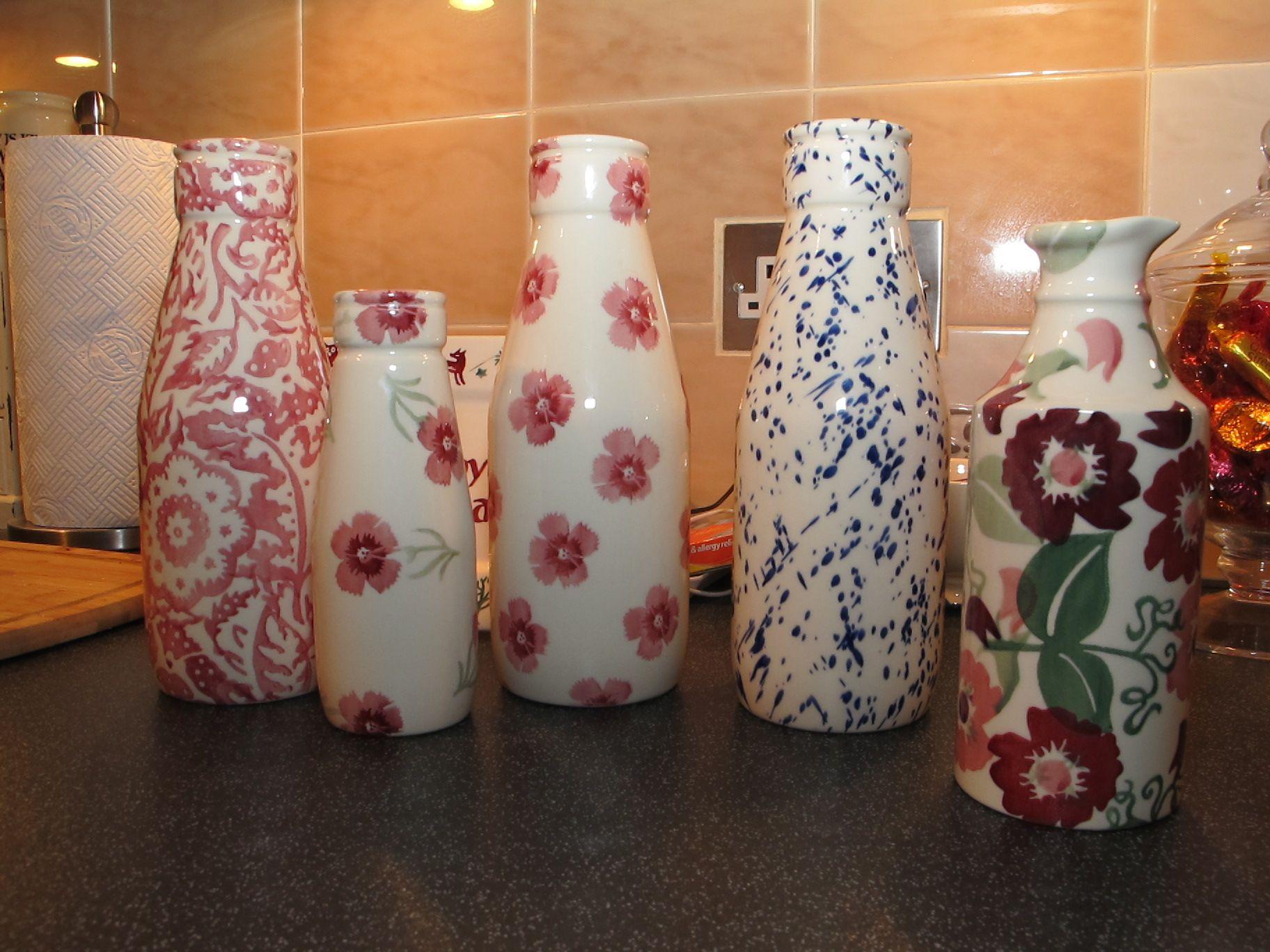 emma bridgewater zinnias sample ginger beer vase at the collectors