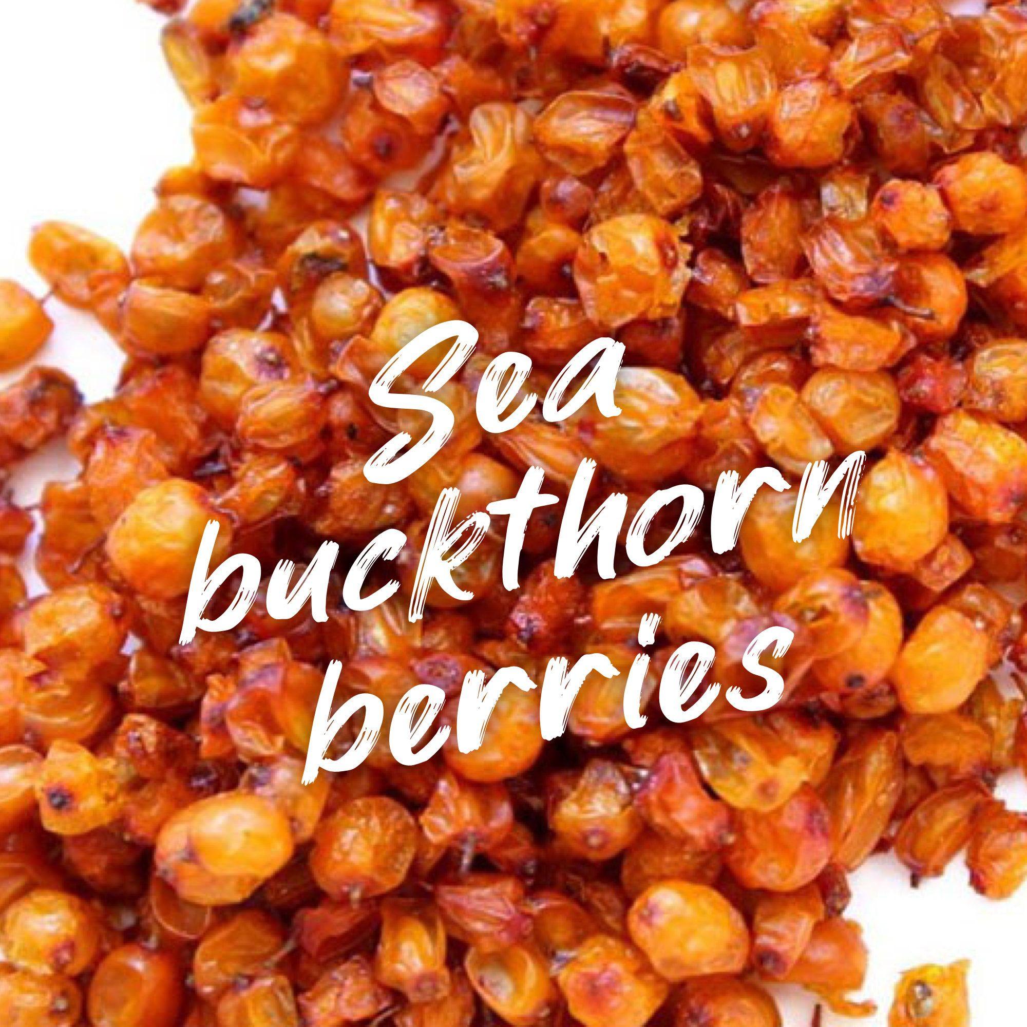 Sea Buckthorn Berries, Hippophae, Seaberry, Organic Natural Herb, Herbal Tea by MaizeOrganics on Etsy