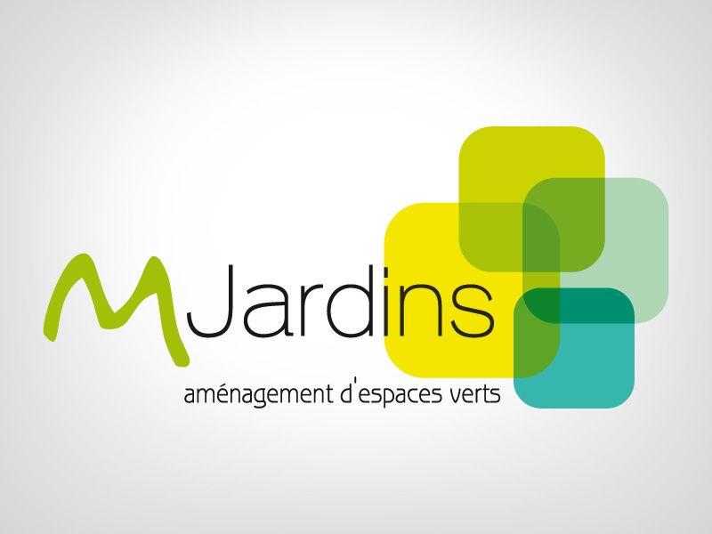 logo M-Jardins mon taff Pinterest