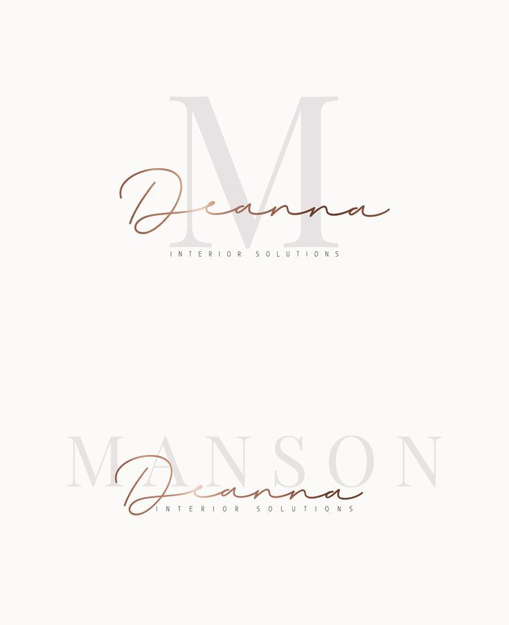 Photo of Modern Signature Logo, Beauty Watermark Logo, Premade Real Estate Logo, Interior Design Logo, Editable Premade Logo Design