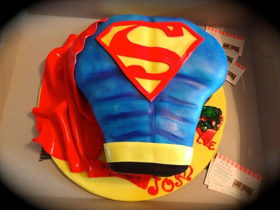 cool superman cakes cakes Pinterest Superman cakes ...