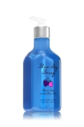 Blue Sky Berry Hand Soap With Olive Oil Bath Body Works