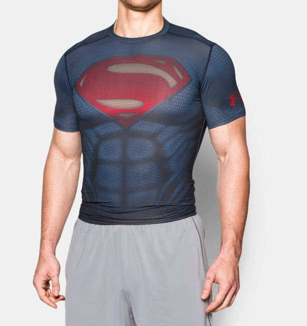7b4e202b3a451 Playera de Compresión Under Armour® Alter Ego Superman para Hombre ...