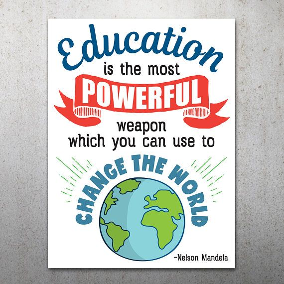 photograph about Printable Protest Signs known as Education and learning is Effective PRINTABLE Protest Poster Distinction the