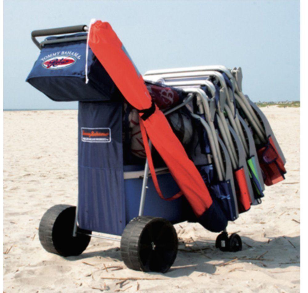 Tommy Bahama All Terrain Beach Cart Sports