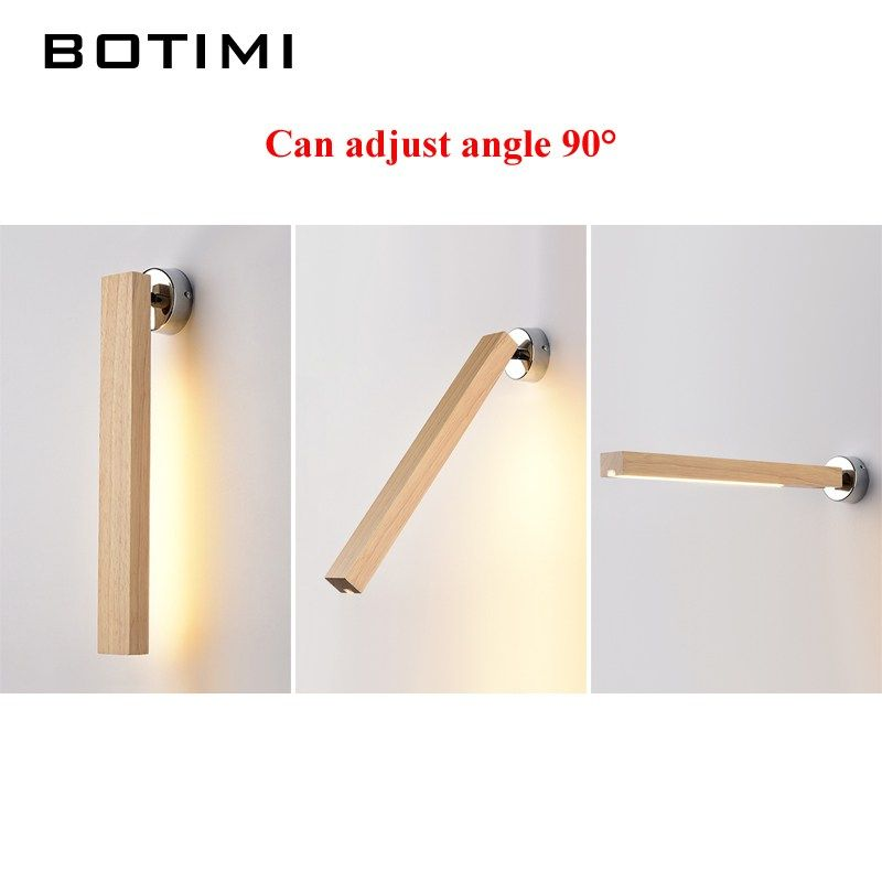 Botimi Creative Wall Lamp 220v Modern Simple Led Bedroom Bedside