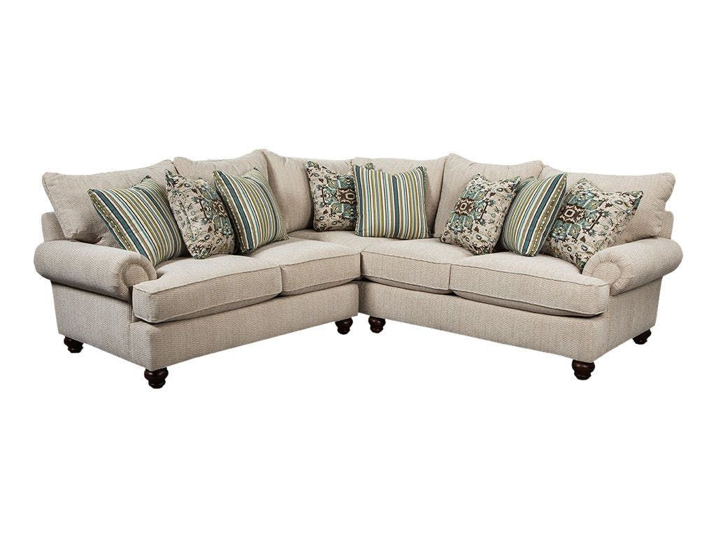 Craftmaster Living Room Sectional 7970 SECT   Blockers Furniture   Ocala, FL