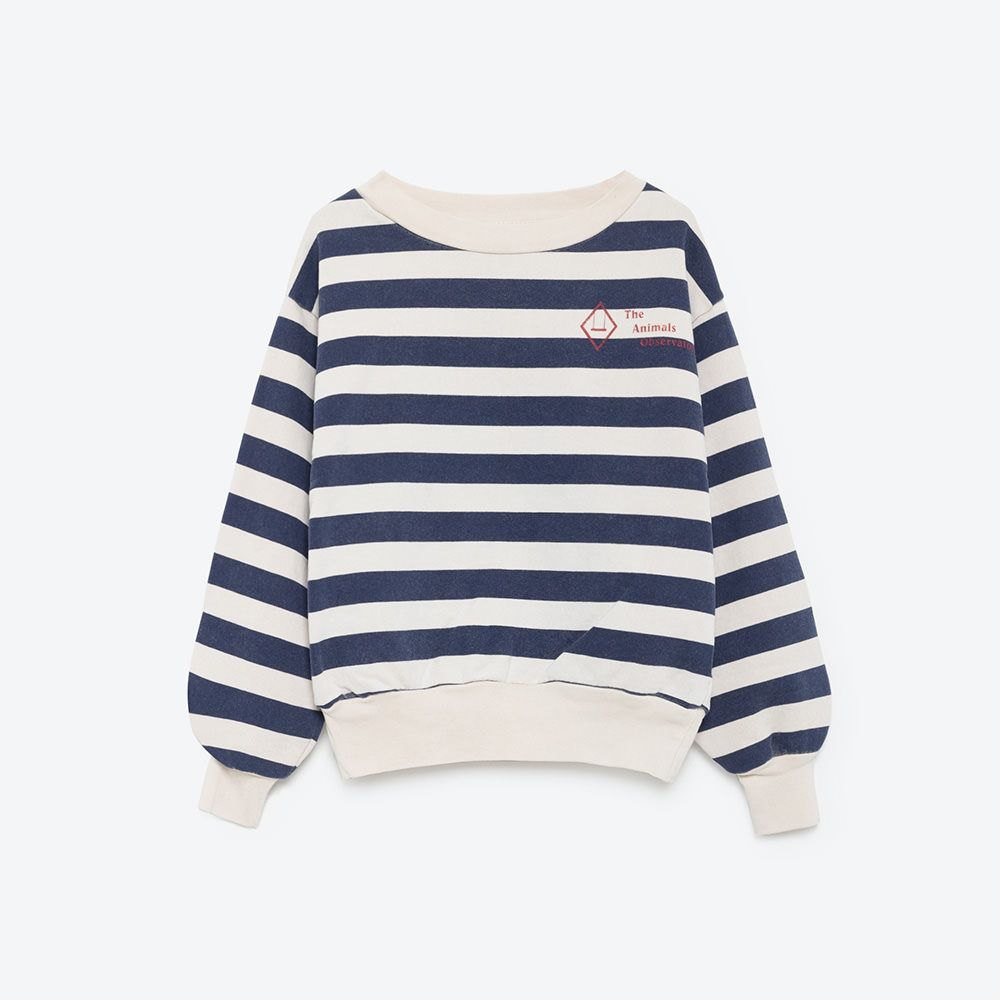 2016AW THE ANIMALS OBSERVATORY Jersey Tops BEAR Border 2Y/4Y/6Y 30%OFF - 世界各国の子供服や雑貨をセレクトしているショップlitrois(リトロワ)の通販サイトです。