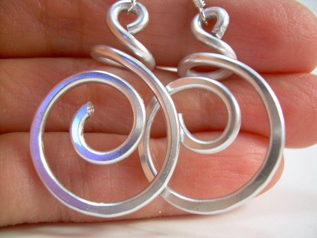 Wire Wrapped Jewelry Handmade Aluminum Wire Jewelry