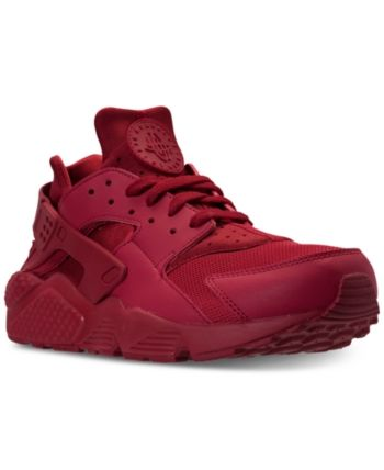 9f2eb1924a3e Nike Men s Air Huarache Run Casual Sneakers from Finish Line - Pink 11.5