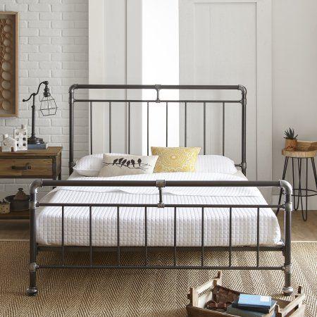 Home Metal Platform Bed Bed Frame Plans Bed Furniture
