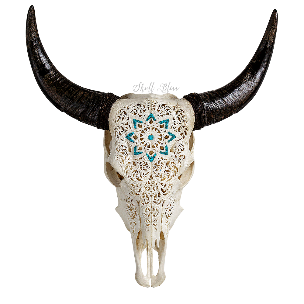 Extra-Large-Bull-Skull-w-Horns-Wall-Decor-Western-Cowboy-Tribal-Cow-Steer-Rodeo