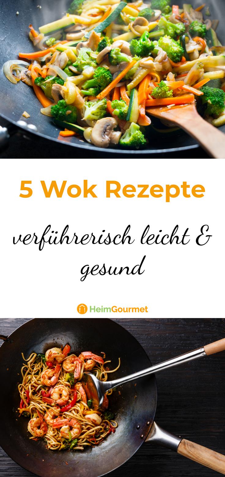 Photo of 5 recetas de wok seductoramente ligeras