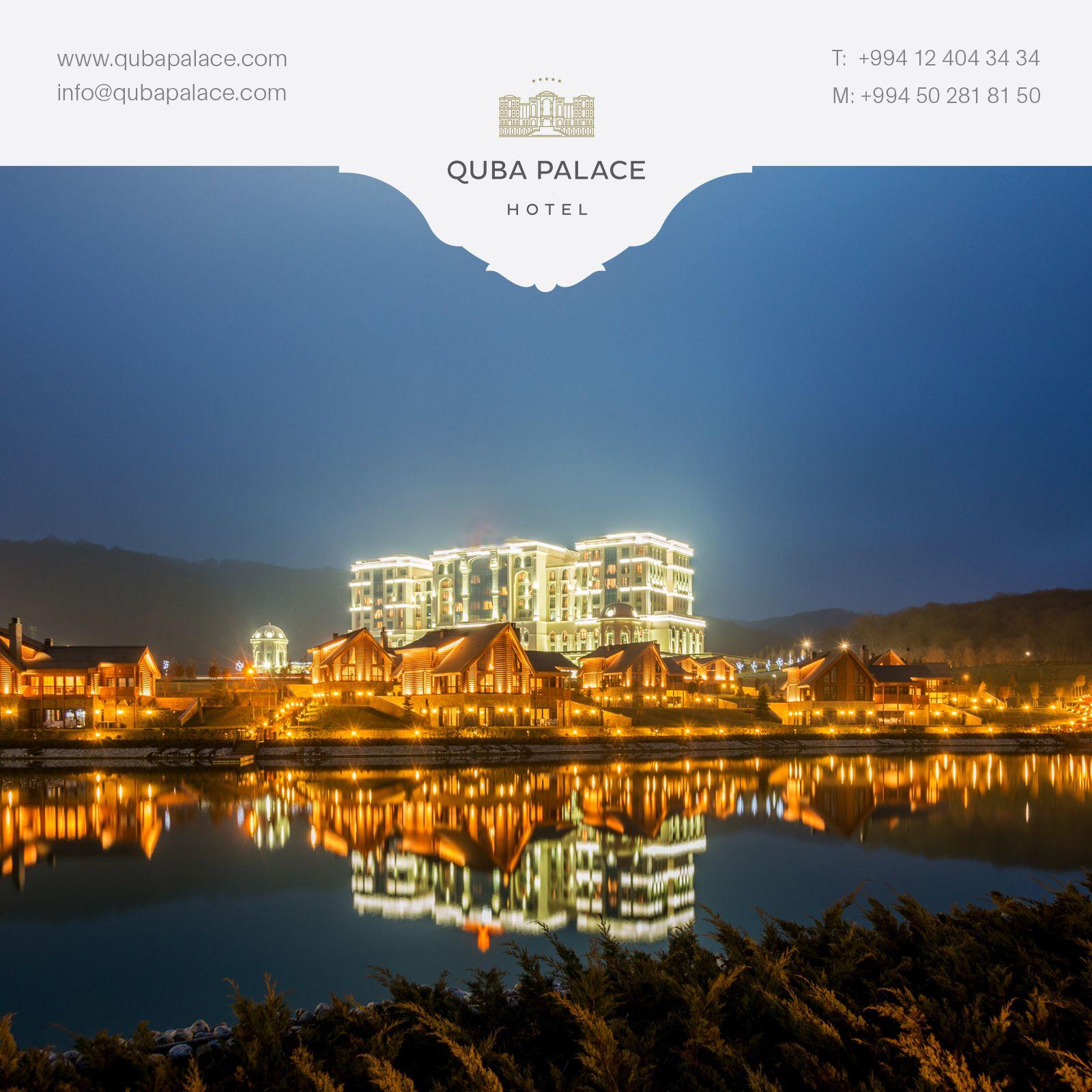 Ecazkar Gecə Goruntusu Ilə Quba Palace Hotel With Amazing Night View Quba Palace Hotel Palace Hotel Hotel Azerbaijan
