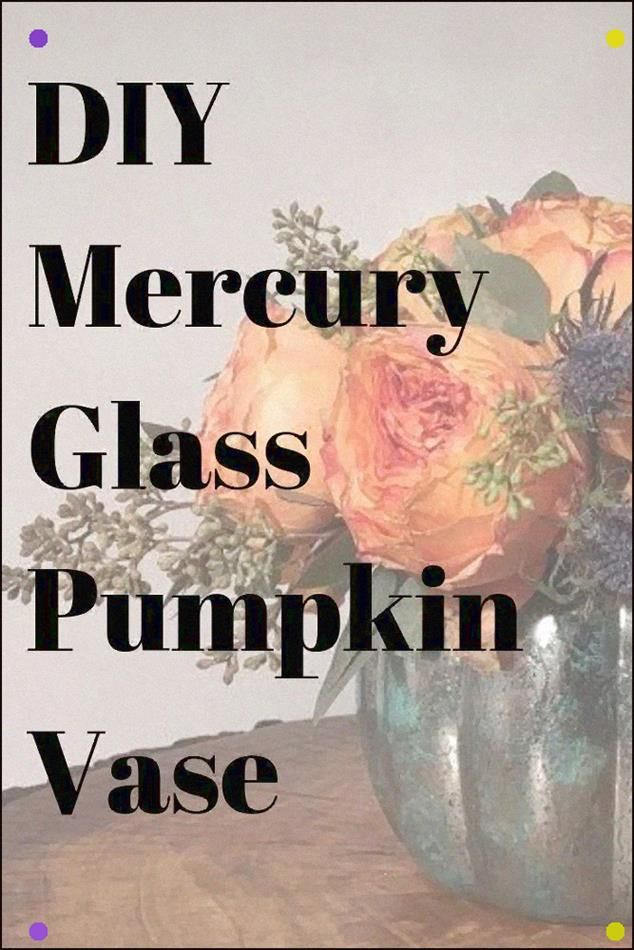 Mercury Glass Is A Gorgeous Look With So Many Different Varieties. In case You're Looking For Elegant Halloween Decor On A Budget, Look No Further. Mercury Glass Can Have A Spooky Look And Can Give Your Centerpiece For Any Fall Decor A Fabulous Vibe. #Diy #Mercuryglass #Fall #eleganthalloweendecor