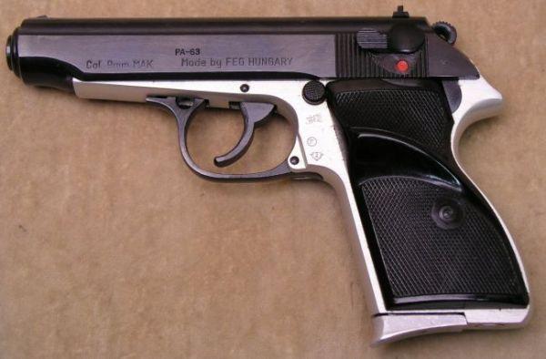 Feg mobili ~ Feg pa pistol military version in mm makarov caliber great