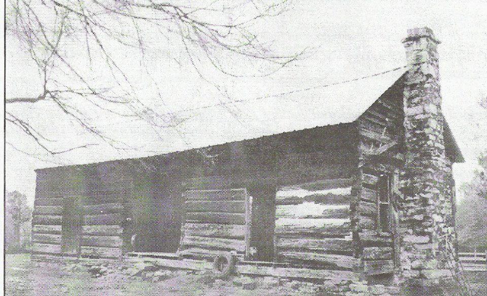 Ashnewton cabinst clair county alabama built in 1817