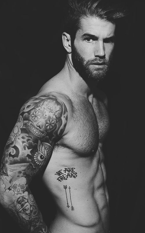 Sexy tattoo ideas for men