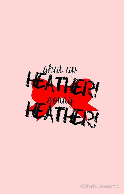 Shut Up Heather Red Bow Iphone Case By Valerie Genzano