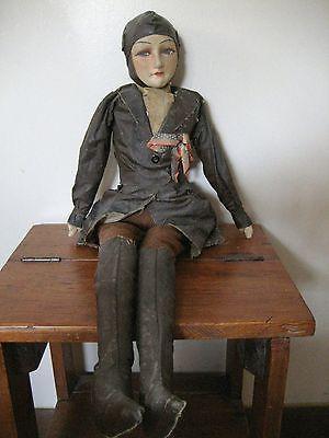 Rare-Cloth-Amelia-Earhart-Doll