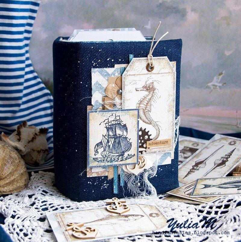 Морской винтажный альбом