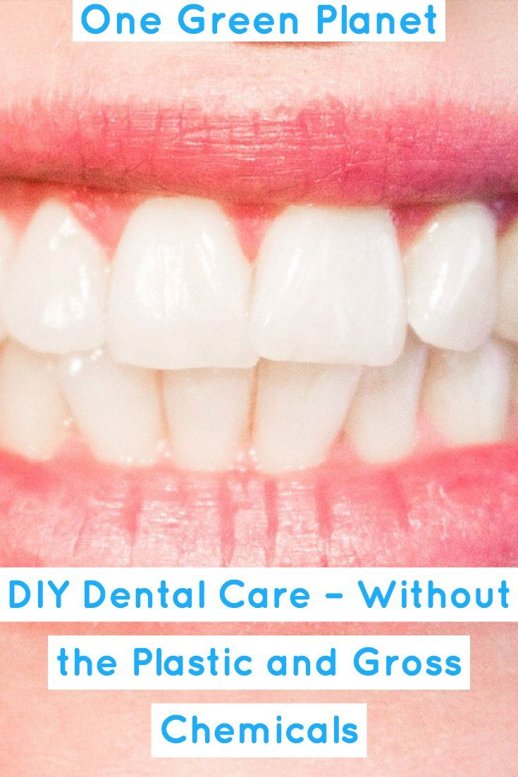 Diy dental care without the plastic and gross chemicals