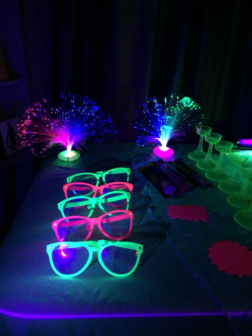 Dollar Tree Glow Party Goodies Glow Stick Party Glow Party Neon Party