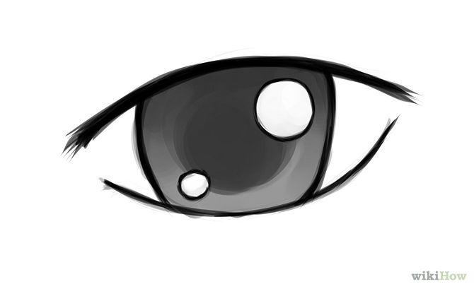 Easy Cartoon Characters Cartoon Eyes Drawing