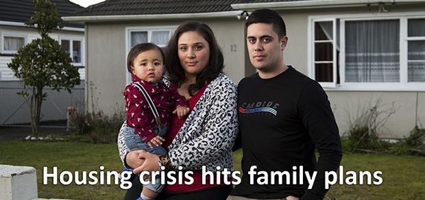 Kiwis forced to choose between baby or house |  A generation of New Zealanders are increasingly faced with a stark choice between owning their own home or starting a family, warns one of the country's leading sociologists. The grip of a second housing boom since the turn of the millennium is slowly revealing its consequences — a quantum change in the pattern of our lives.