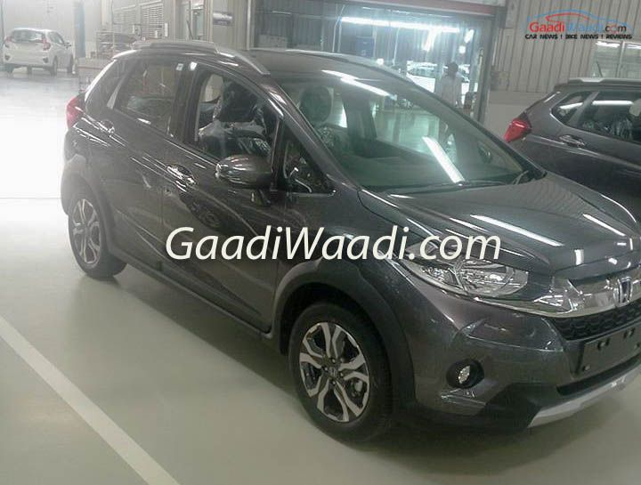 India Spec Honda Wr V Spied In Different Colors Cars Daily Updated