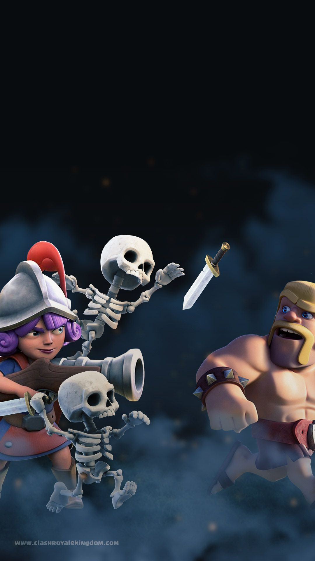 Outbreak Clash Royale Wallpaper Clash Royale Kingdom Clash Of