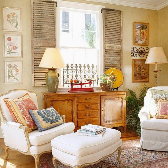 C.B.I.D. HOME DECOR and DESIGN: THE CHARM OF SHUTTERS