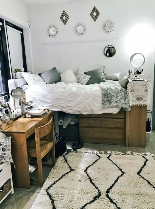 ways to decorate your dorm for spring this year also interior rh pinterest