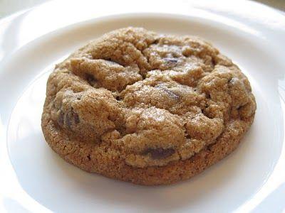 Chocolate Chip-Espresso-Cinnamon Cookies from Bon Apetit.  I usually skip walnuts.