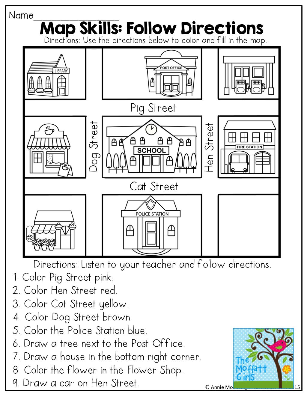 April NO PREP Packet (Kindergarten)   Kindergarten social studies [ 1325 x 1024 Pixel ]