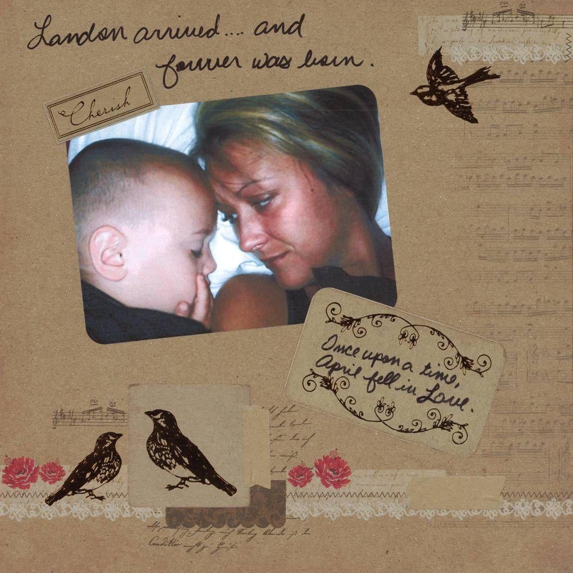 Scrapbook ideas grandma - Grandmother S Alzheimer S Scrapbook Page 15