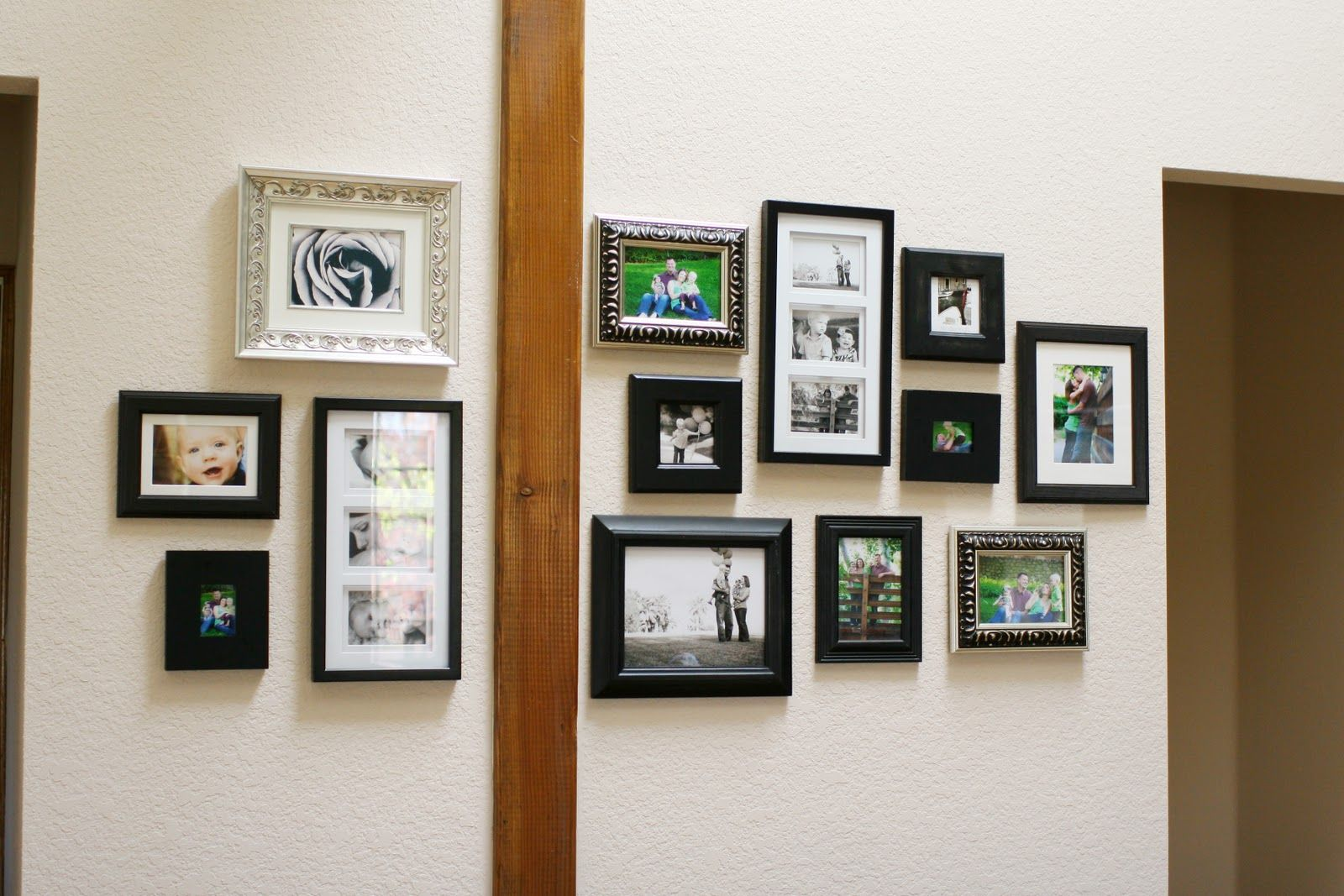 Option for the home pinterest picture walls and walls