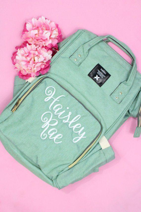 Preorder Por Monogram Diaper Bag Backpack Ny