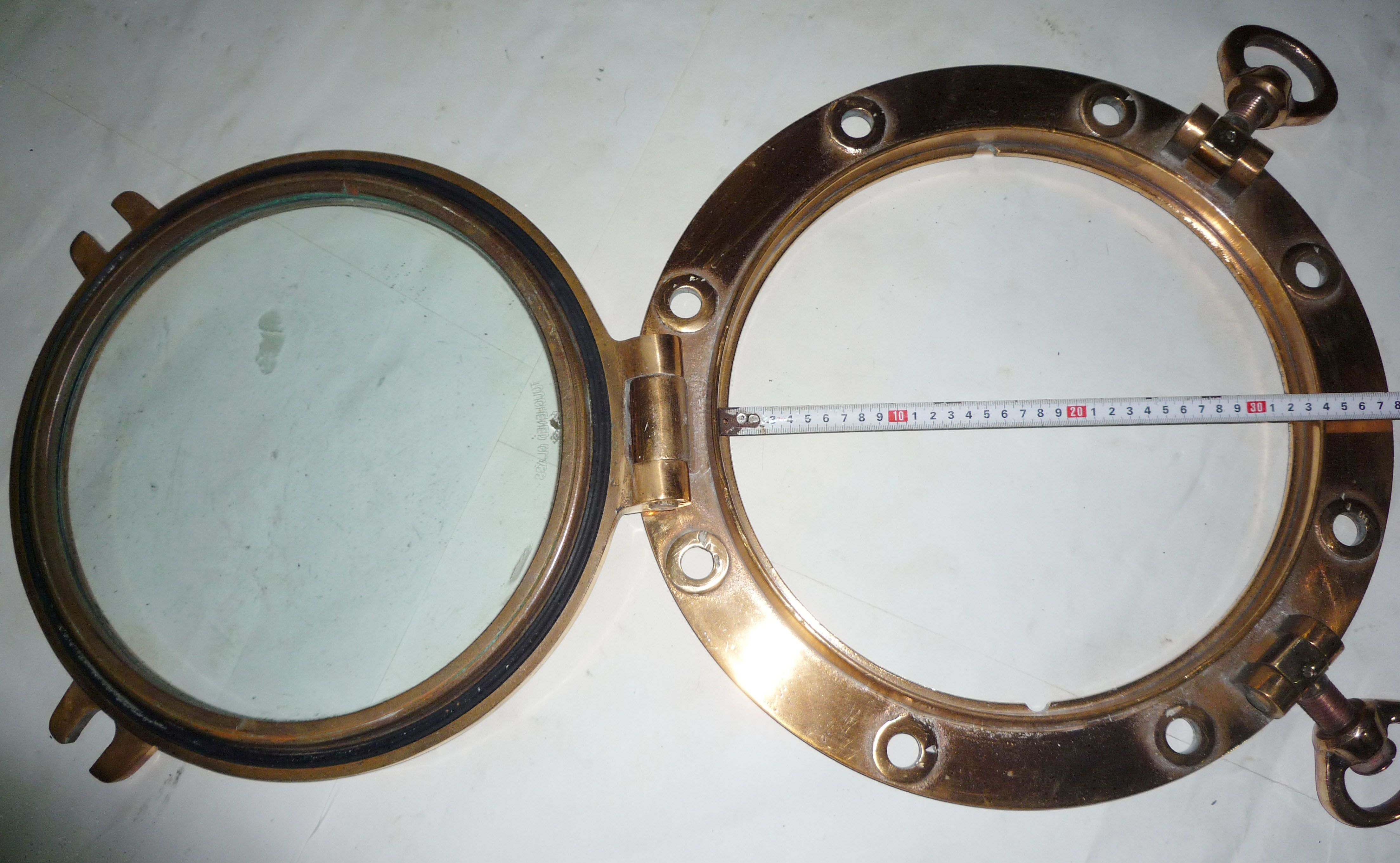 Brass portholes-I would love 2 have one of these!